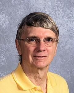 Biology teacher John Black