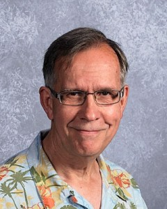 Psychology teacher Charlie Blair-Broeker