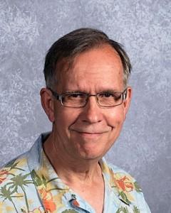 Psychology teacher Charlie Blair-Broeker