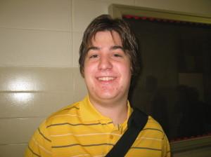 Senior Noah Miller
