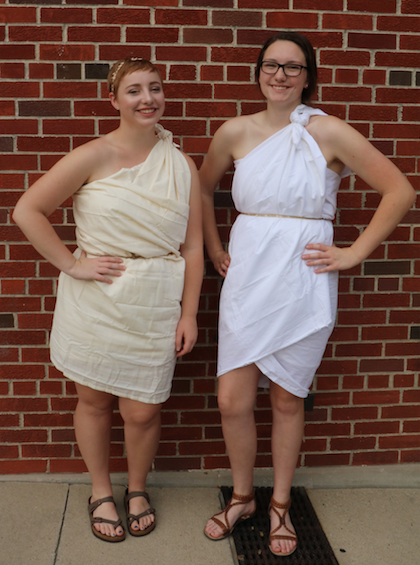 Monday: Toga Day